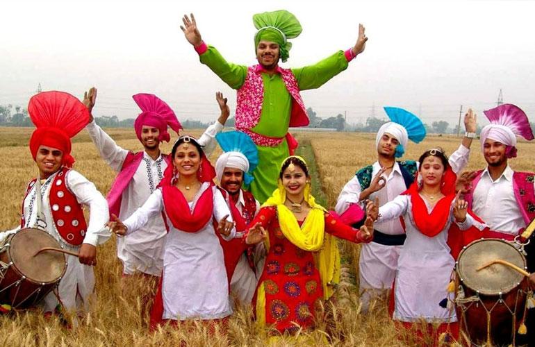 Bhangra Folk Dance Punjab